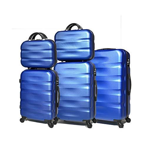 Celims marca francesa – Lote de 5 maletas de material rígido.