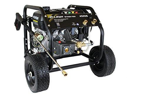 Lifan LF4500E-CA HydroPro Electric Start and Recoil Pressure...