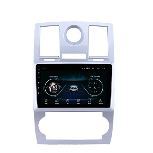 HP CAMP Navigationssystem für Chrysler Aspen 300C 2004-2008, Car Radio Android 9.1 mit CarPlay/DSP/Rückfahrkamera, unterstützt GPS/RDS/OBD/DVR/DAB,4 core,4G WiFi 2G+32G