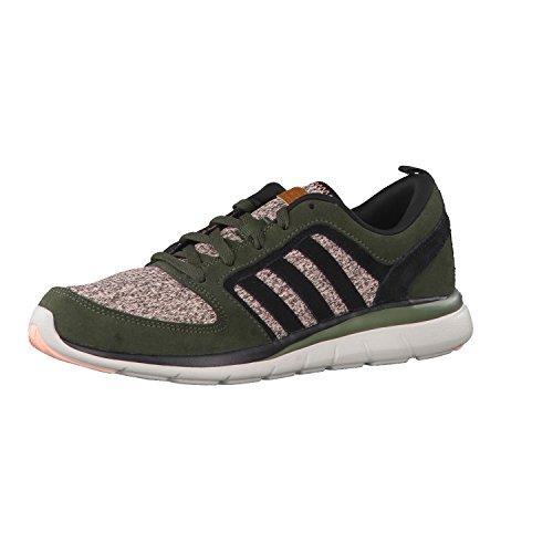 adidas Sneaker X Lite W Verde Militare/Rosa EU 36 2/3 (UK 4)