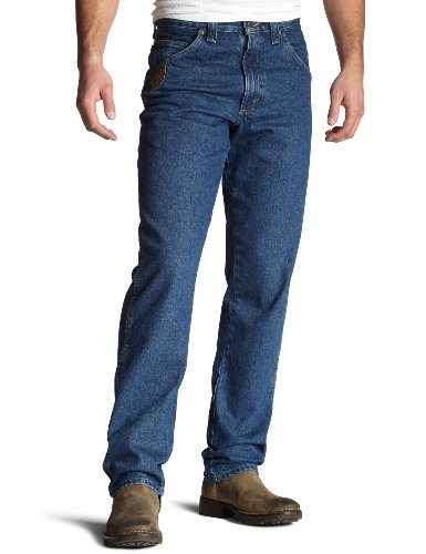 Wrangler Riggs Workwear Men's Big & Tall Relaxed Fit Jean,Antique Indigo,46x30 (Riggs Utility Jeans)