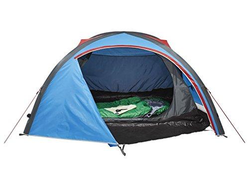 Crivit 2-persoons tent, campingtent, strand, trekkingtent, opblaasbaar met dubbele pomp