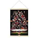 ADWE Poster, Motiv: FC Barcelona Spieler, zum Aufhängen,