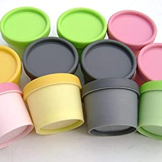 LuLyL reg; 50PCS 100g Empty Multi-Colored Plastic Cosmetic Containers Facial Mask Box/Ointments Bottle/Cream Box Makeup Pot Jar