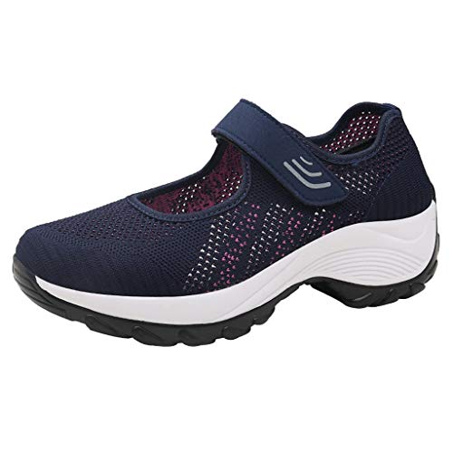 Zapatillas Mujer Plataforma Cuña Deportivas