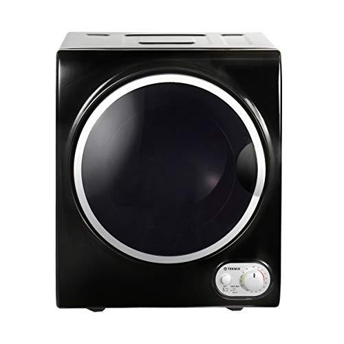 Teknix TKDV25B 2.5kg Load Compact Tumble Dryer Black