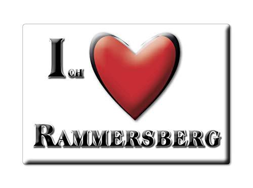 Enjoymagnets RAMMERSBERG (by) Souvenir Deutschland Bayern Fridge Magnet KÜHLSCHRANK Magnet ICH Liebe I Love