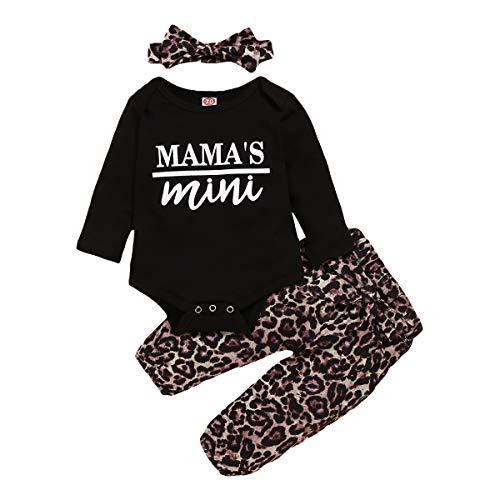 NewbornBabyGirlClothesSunflowerRuffleLongSleeveT-ShirtTop+FloralPants+ HeadbandInfantOutfitsSet (COOLEYE 3PCS, 3-6 Months)
