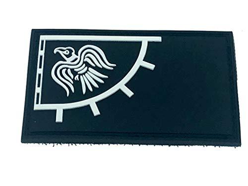 Patch Nation Odin's Rabe Viking Wikinger Schwarz PVC Airsoft Paintball Klett Emblem Abzeichen
