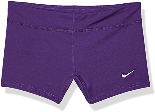 Nike Performance Women's Volleyball Game Shorts (X-Large, Purple)