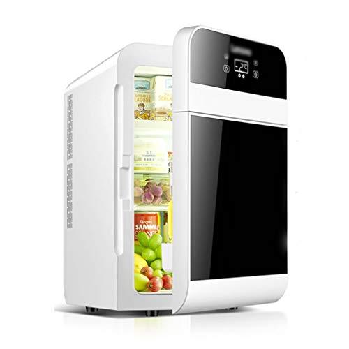 Minikühlschrank Mini-Kühlschrank Haushaltsprodukte 22L Auto Kühlschrank Niedriger Stromverbrauch Und Energieeinsparung Kühl- Und Warmwasserboiler (Color : Black, Size : 28 * 36 * 45cm)