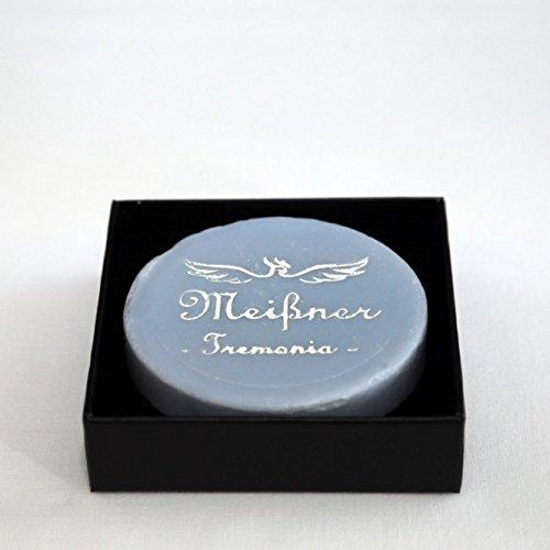 Meißner Tremonia Lavender De Luxe Rasierseife in einer Kartonschachtel