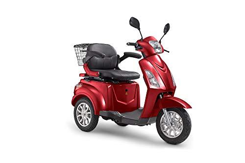DocGreen Elektromobil E-LIFE 800 Rot Seniorenmobil Trike Elektro Dreirad 25 km/h