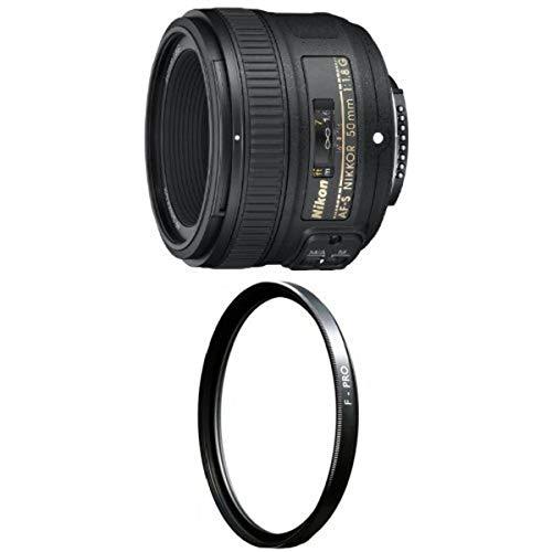 Nikon 50mm f/1.8G AF-S NIKKOR FX Lens with B+W...