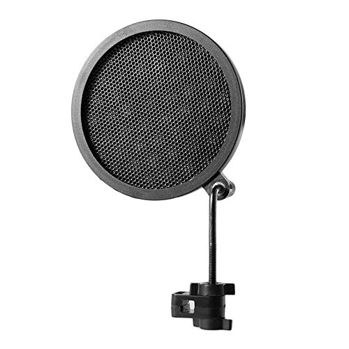 ghfcffdghrdshdfh PS-2 dubbele laag studio microfoon microfoon wind screen pop filter / Swivel Mount / masker Shied for Speaking Recording