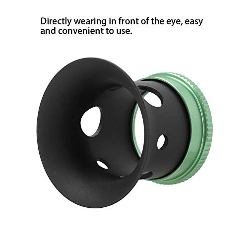 Eyepiece Lens, 10X Magnifying Glass Lens Professional Eyepiece Lens for Watch Repairing It is an Ideal Tool for Precision Watch Repairing Work