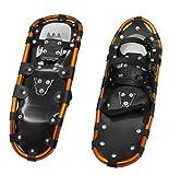 LVYE1 MRMF Snowshoes per Uomini E Donne, Lega Leggera in Alluminio Tutte Le Scarpe da Neve del Terreno con Attacchi Regolabili