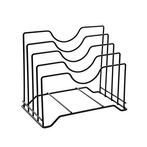 Zarome Soporte de Tabla de Cortar Multifuncional Tablero de Cuchillos de Metal para Porta Utensilios de Cocina y organizadores Decent
