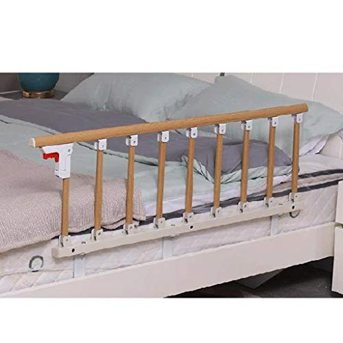 YF Elderly Bed Guard Rails Simple Bedside Portable Upper Bunk Nursing Bed Bed Plus Long Bedside Bed Guard For Children Seniors And Handicapped Individuals (Size : 95x40cm)