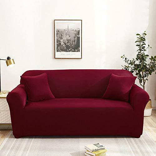 Allenger Cover L-Shape Corner Sofa,Einfarbige elastische Sofabezüge für Wohnzimmer Couch Spandex Sofabezüge-8_90-140cm