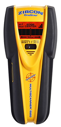 Zircon MultiScanner i520 Center Finding Stud Finder with Metal and Live AC Wire Detection