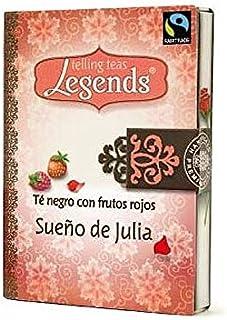 Legends té negro con frutos rojos una caja contenido 24 bolsas