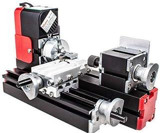 Mini torno lijadora motorizada para la metalurgia,