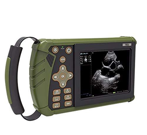 YAOUFBZ Il Nuovo Scanner a ultrasuoni B Portatile Veterinario/Veterinario/Animale con sonde di Traino convesse,apparecchiatura diagnostica ad ultrasuoni veterinaria Portatile,utilizzato