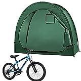 Carpa Bicicletas Cobertizo,Carpa para Bicicletas,Carpa para Cobertizo para Bicicletas De Alta Capacidad,Almacenamiento de jardín Cubierta Impermeable y a Prueba de Viento,para Camping