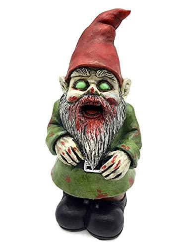 Zombie Walking Dead Gnome Garden Statue Sculpture