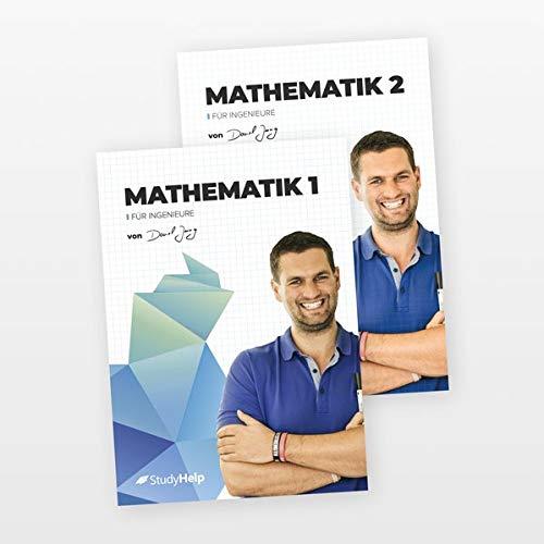 Mathe für Ingenieure 1&2 Lernhefte Set | StudyHelp & Daniel Jung