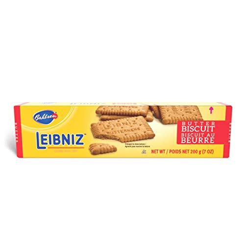 butter snack cookies Bahlsen Leibniz Butter Biscuit Cookies (1 box)   Our classic original buttery biscuits (7 ounce boxes)