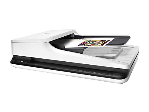HP Scanjet Pro 2500 F1 L2747A, Scanner a Passaggio Singolo Professionale per Documenti e Immagini, Rendimento Medio di 1.500 Pagine al Giorno, Compatt