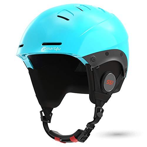 Smart4u LIVALL Riding Smart Ski Helmet SS1 with Bluetooth Ski & Snowboard Helmet for Men Women Youth Snow Helmet with Audio, Walkie-Talkie/Push-to-Talk