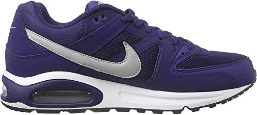 Nike Herren AIR MAX Command Low-Top, Blau 402 Loyal Blue Wolf Grey White Blk, 40 EU