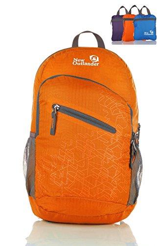 Outlander 2212 33L lightweight Travel Gear Packable Daypack-Orange