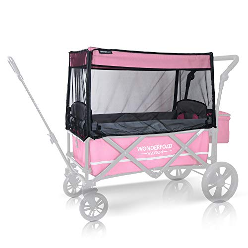 WonderFold Wagon Mosquito Insect Bugs Net Netting Accessory for Model X2 Double Stroller Wagon