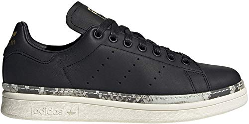 adidas Damen Stan Smith New Bold W Fitnessschuhe, Schwarz (Negro 000), 36 EU