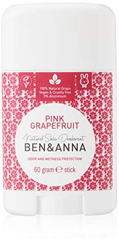 Ben & Anna Natural Soda Deodorant Pink Grapefruit