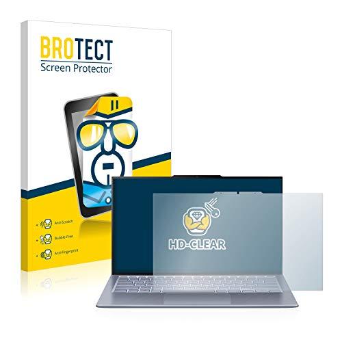 BROTECT Schutzfolie kompatibel mit Asus ZenBook S13 UX392FN klare Bildschirmschutz-Folie