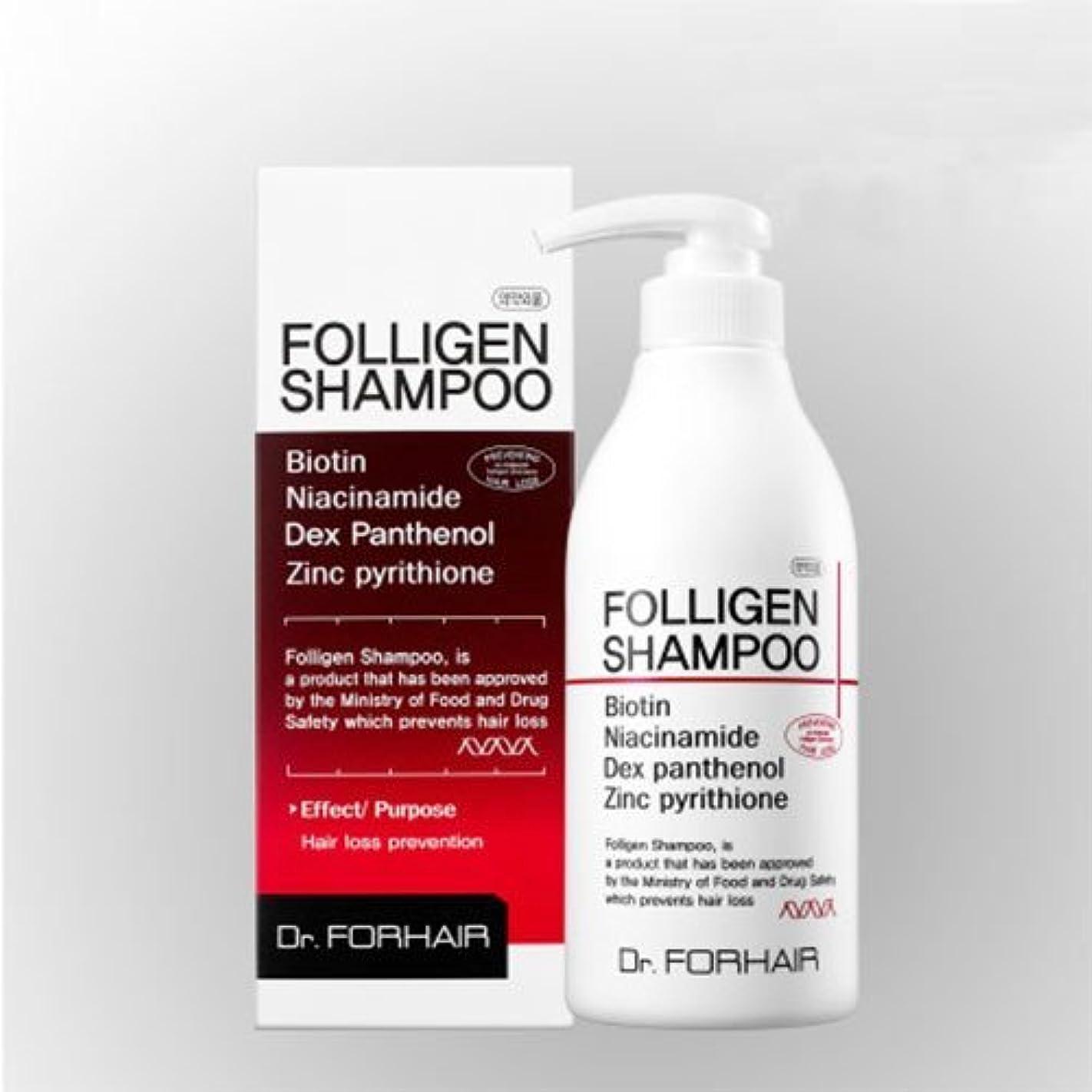 ロゴ信号バケットダクト?フォーヘア ポルリジェン シャンプー500ml 脱毛防止シャンプー[並行輸入品] / Dr. Forhair Folligen Shampoo 500ml (16.9 fl.oz.) for Hair Loss Prevention