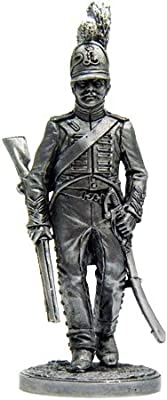 Soldier Shevolozhersky Regiment Tin Soldiers Metal Sculpture Miniature Figure Collection 54mm (Scale 1/32) (Nap-29)