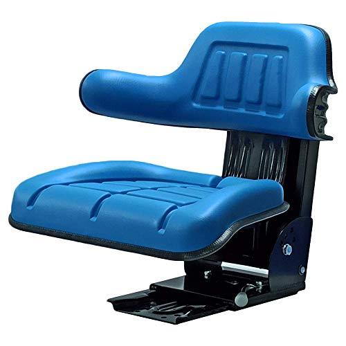 Sedile trattore per New Holland, Ford, Oldtimer, PVC, blu