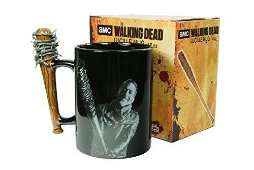 Kaffeetasse The Walking Dead Negan & Lucille schwarz und weiß