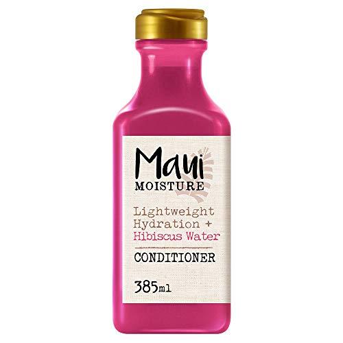 Maui Moisture, Acondicionador Hidratación Ligera con Agua de Hibisco, Hidrata y Suaviza, 385 ml