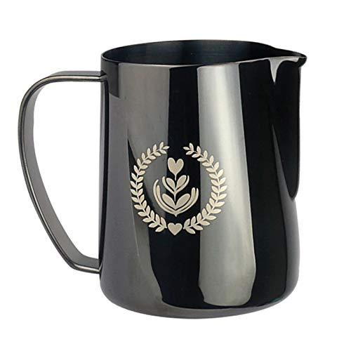 Nuca Espresso Steaming Pitcher 350/600ML, Espresso Milk Frothing Pitcher,Coffee Milk Frothing Cup, Coffee Steaming Pitcher