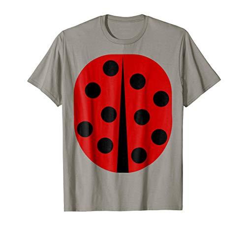 Lady Bug - Easy Halloween Costume Idea - Tee Shirt