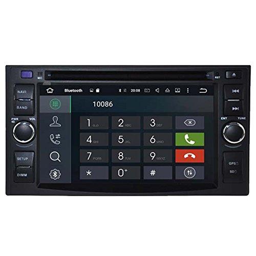 Autosion Android 10 Lecteur DVD de Voiture GPS Radio Head Unit Navi stéréo multimédia WiFi pour Kia Cerato Carens Rio Sorento Morning Sportage Sedona Support Commande au Volant