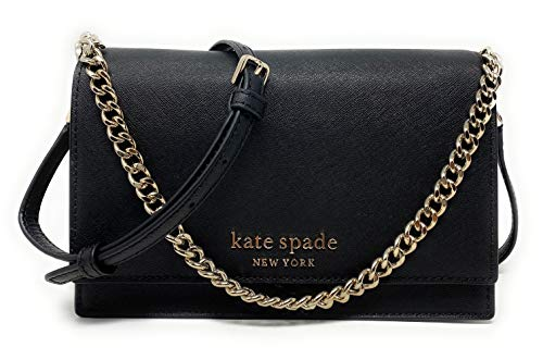 Kate Spade New York Convertible Cameron Crossbody Black, Medium