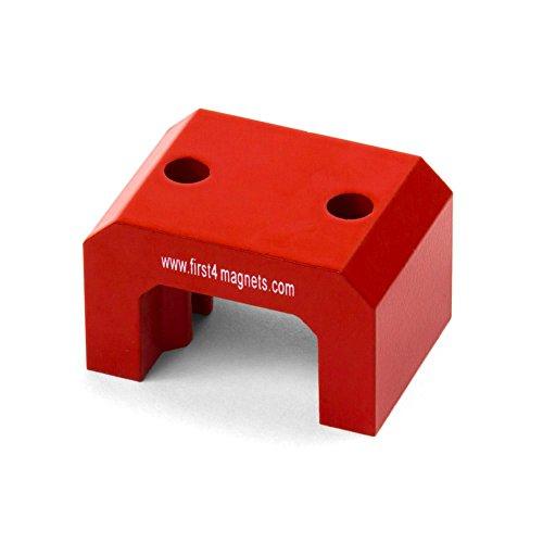 Magnet Expert Extra Large Rouge Alnico en fer à cheval Aimant - Pull 23 kg (57 x 35 x 40.5) (Pack de 1)